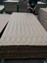 Natural Teak Face, Gurjan (Keruing) Core Commercial Plywood, 1.9 - 3.6 mm thick