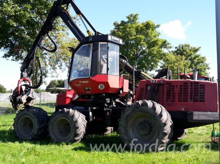Used-Valmet-911-3-2006-Harvester
