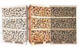 劈好的薪柴-未劈的薪柴 薪碳材/开裂原木 白色灰, 桦木, 橡木