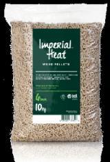 960kg Imperial Heat ™ EN+A1 Wood Pellets Exceeds EN+A1 96 x 10kg Bags