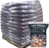 Firewood, Pellets And Residues - Premium Hot Rocks ™ Smokeless Coal 98 x 10kg Bags
