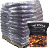 Firewood, Pellets And Residues - Premium Hot Rocks ™ House Coal 98 x 10kg Bags