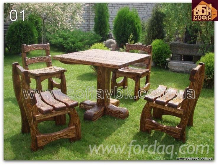 Vend-Ensemble-De-Jardin-Design-R%C3%A9sineux-Europ%C3%A9ens-Pin-%28Pinus-Sylvestris%29---Bois-Rouge