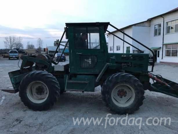 Vend-Tracteur-Forestier-Mercedes-Occasion