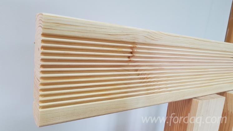 Spruce/Pine Garden Deck Boards