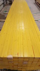 Drewno Lite, Sosna Zwyczajna - Redwood, Panele Ścienne Wewnętrzne