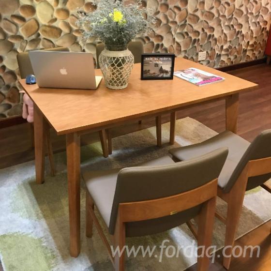 Vend ensemble table et chaises pour salle manger design feuillus asiatiques - Ensemble salle a manger design ...