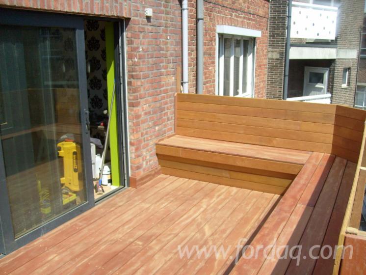 Vend lame de terrasse 1 face rainur e mukulungu belgique - Lame de terrasse belgique ...