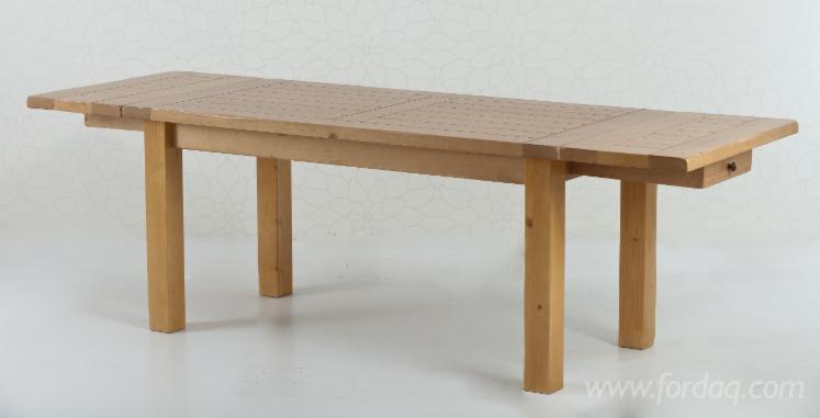 Vend Ensemble Table Et Chaises Pour Salle À Manger Traditionnel Résineux Européens Sapin (Abies Alba) Harghita