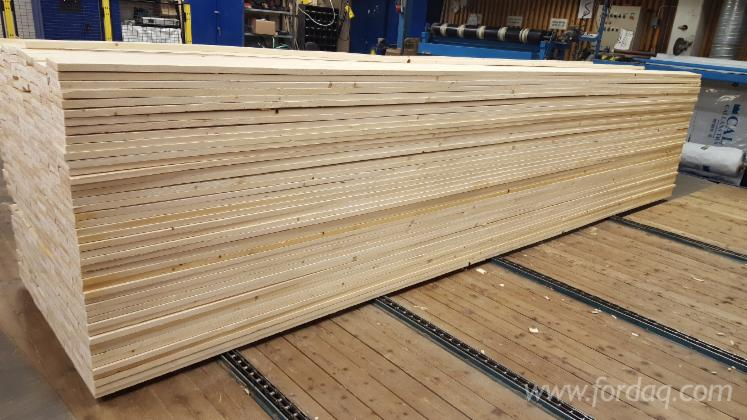 Pine spruce sawn lumber kd mm thick