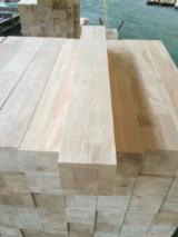 China Mouldings, Profiled Timber - Rubberwood Edge Glued Beam for Scantlings