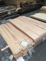 天然单板, 榉木, 向下刨平
