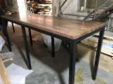 null - Vend Table De Salle À Manger Design Feuillus Nord-américains Caryer (Hickory)