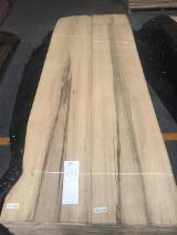 Sliced Veneer - Limba (Frake) Natural Veneer, Flat cut - plain, 0.55 mm thick