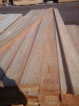 Thermo Treated Sawn Timber - Siberian Larch Lumber, KD, 32; 50 mm thick