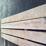 Hardwood  Sawn Timber - Lumber - Planed Timber For Sale - White Oak Edged Planks, 18+ mm thick