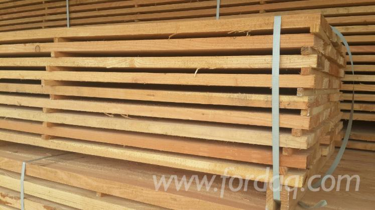 Larch sawn lumber for sale 40 mm thick for Wood decking boards for sale