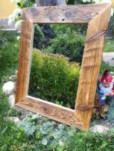 Meubles De Salle De Bain à vendre - Vend Miroirs Rustique/Campagne Résineux Européens Pin (Pinus Sylvestris) - Bois Rouge
