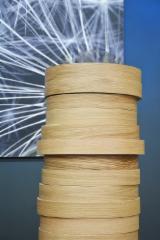 木皮和单板 - 天然单板, 桦木, 胡桃木, 橡木, 裂缝