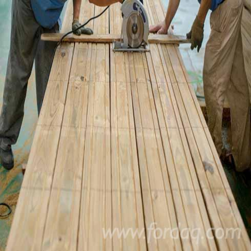Chinese pine edged timber for Pine tree timber