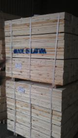 Latvia Sawn Timber - Softwood Pallet Elements, 12-50 mm thick