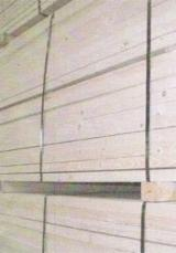 Sawn Softwood Timber  - Fir Sawn Timber, 25-60 mm thick