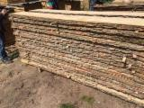 Hardwood  Unedged Timber - Flitches - Boules For Sale - Oak Loose Romania