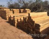 Hardwood  Sawn Timber - Lumber - Planed Timber Thermo Treated For Sale - Thermo Treated Quebracho Blanco  Railway Sleepers from Paraguay, Chaco