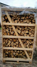 null - Eiche Brennholz Gespalten