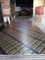 Шпон мебельные щиты и плиты - Ламинированная Фанера (Черная Пленка), Тополь