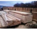 Softwood Timber - Sawn Timber Supplies - 20+ mm Fresh Sawn Fir , Spruce  Romania