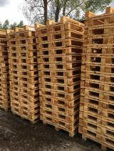 Wood Pallets - Selling Pallets, Used and New