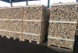 Firewood, Pellets And Residues - Oak / Hornbeam / Birch Dry Firewood in Boxes & Sacks