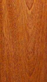Terrassenholz Großbritannien - Jatoba , Vakuum Getrocknet, Belag (4 Abgestumpfte Kanten)