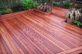 Terrassenholz Großbritannien - Eukalyptus, Vakuum Getrocknet, Belag (4 Abgestumpfte Kanten)