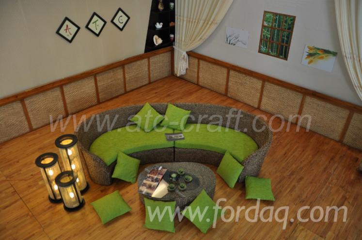 Miraculous Water Hyacinth Sofa Set Wali 105 Ncnpc Chair Design For Home Ncnpcorg
