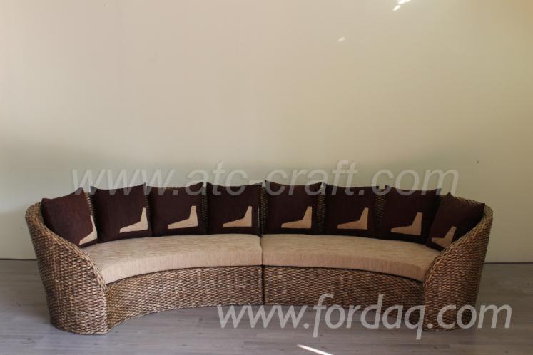 Sensational Water Hyacinth Sofa Set Wali 105 Ncnpc Chair Design For Home Ncnpcorg