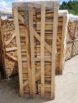 FSC Firewood/Woodlogs Cleaved from Romania - Beech Firewood Cleaved FSC 25; 40 cm