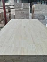 Massivholzplatten Zu Verkaufen China - 1 Schicht Massivholzplatten, Kautschukbaum