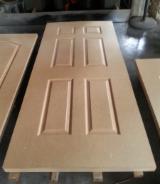 Raw HDF Door Skin