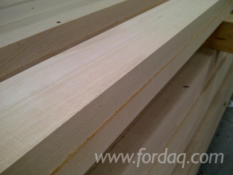 Drewno Lite, Buk, Kantówki Strugane