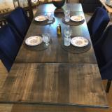 Achète Table De Salle À Manger Contemporain Feuillus Européens Chêne
