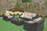Rattan - Wickerwork - Cane Garden Furniture - Poly Rattan Sofa Set RASF-125