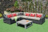 Rattan - Wickerwork - Cane Garden Furniture - Poly Rattan Sofa Set RASF-126