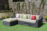Art & Crafts/Mission Garden Furniture - Poly Rattan Sofa Set RASF-128