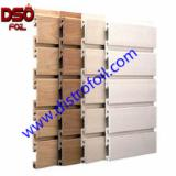 Surface Treatment And Finishing Products - Wood grain or marble heat transfer foil on wood slat