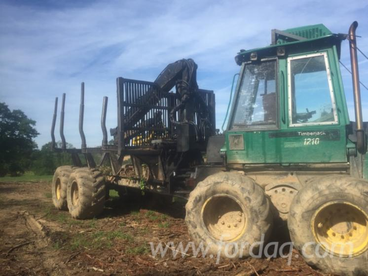 Used-Timberjack-1996-Forwarder