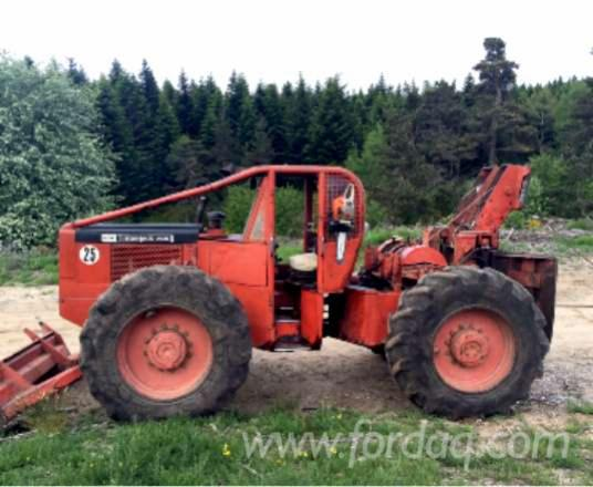 tracteur forestier timberjack occasion
