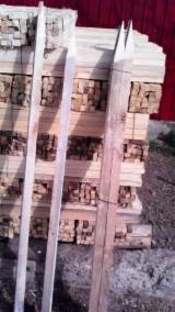 Cylindrical Trimmed Round Wood - 24+ mm Stakes Romania