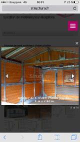 Holzhäuser - Vorgeschnittene Fachwerkbalken - Dachstuhl Gesuche - Fichte